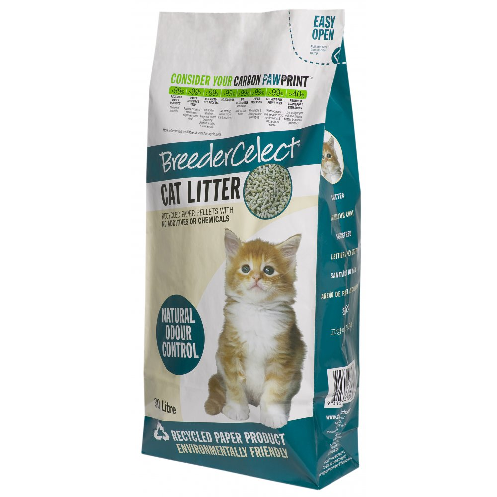 best kitty litter for long haired cats