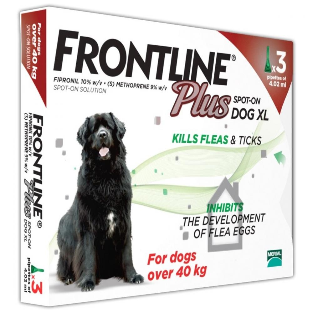 Frontline Plus Spot On Small Dog Kg Kg  Pipettes